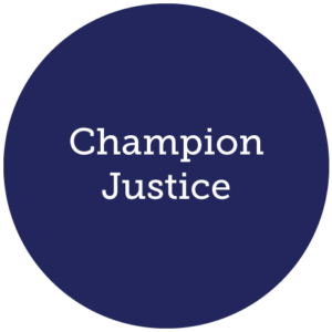 Champion Justice