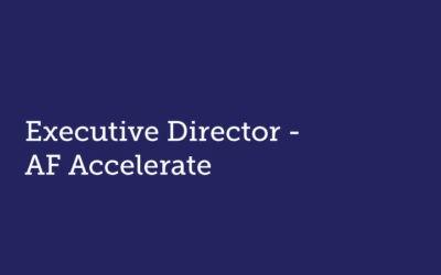 Executive Director  AF Accelerate