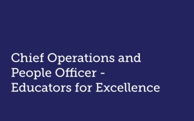 Chief Operations and People Officer  Educators for Excellence